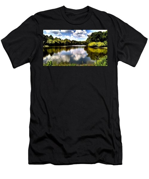 Men's T-Shirt (Slim Fit) featuring the photograph Elk Creek Tennessee by Chris Tarpening