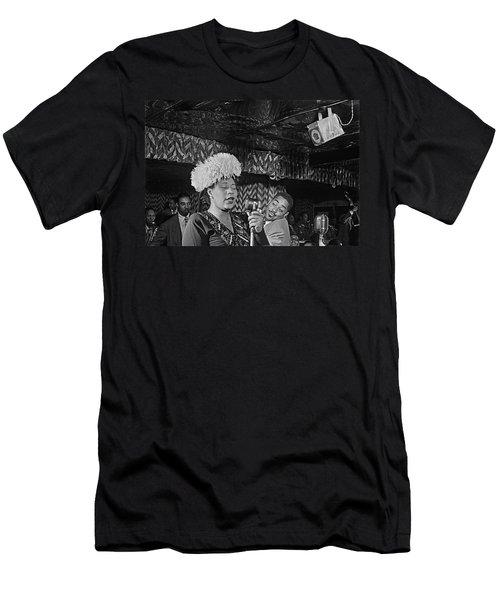 Ella Fitzgerald And Dizzy Gillespie William Gottleib Photo Unknown Location September 1947-2014. Men's T-Shirt (Athletic Fit)