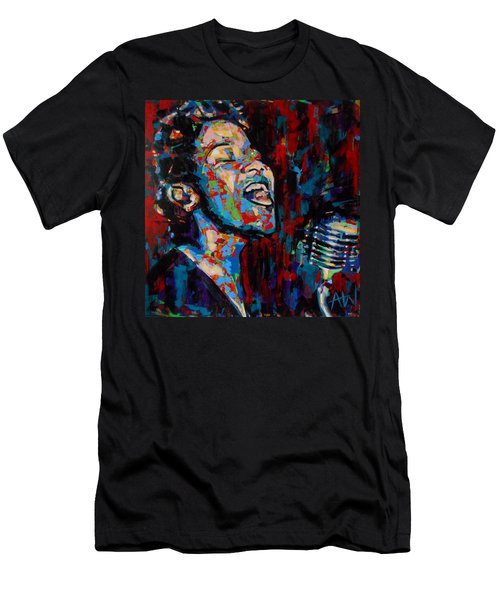 Ella Fitzgerald Men's T-Shirt (Athletic Fit)