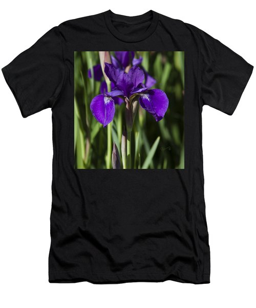 Eloquent Iris Men's T-Shirt (Athletic Fit)