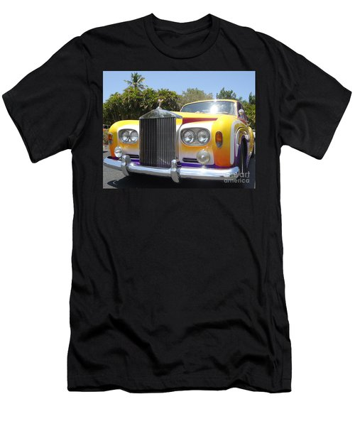 Elton John's Old Rolls Royce Men's T-Shirt (Athletic Fit)