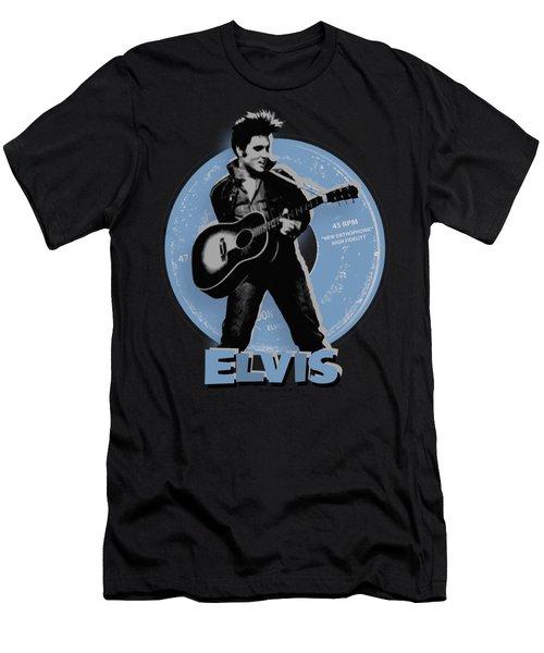 Elvis - 45 Rpm Men's T-Shirt (Athletic Fit)