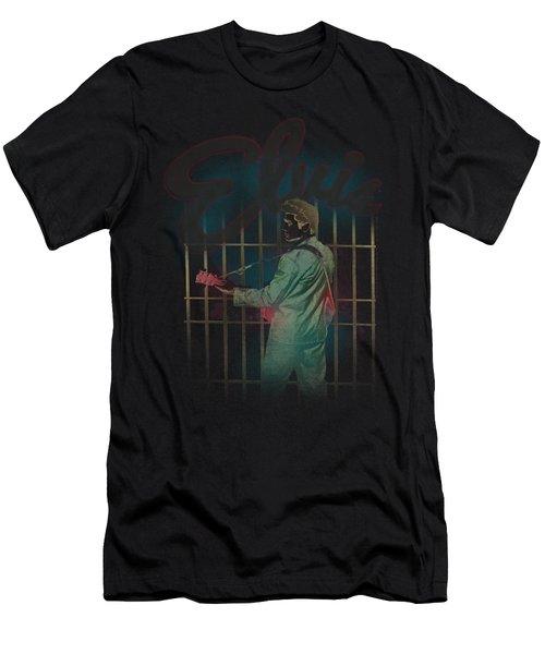 Elvis - Colorful King Men's T-Shirt (Athletic Fit)