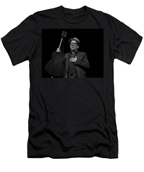 Elvis Costello Men's T-Shirt (Athletic Fit)