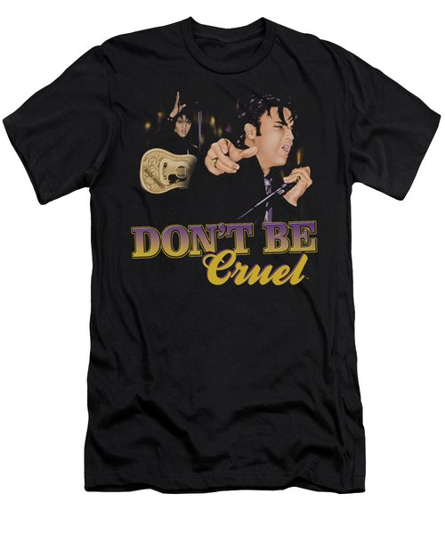 Elvis - Don't Be Cruel Men's T-Shirt (Athletic Fit)
