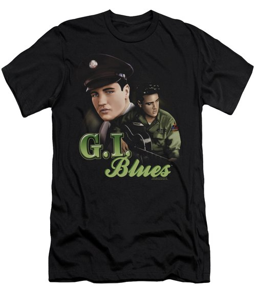 Elvis - G I Blues Men's T-Shirt (Athletic Fit)