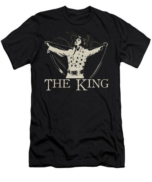Elvis - Ornate King Men's T-Shirt (Slim Fit) by Brand A