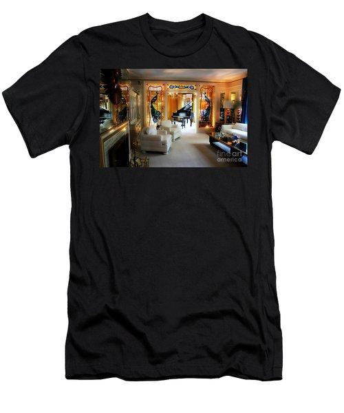 Elvis Presley's Living Room Men's T-Shirt (Athletic Fit)