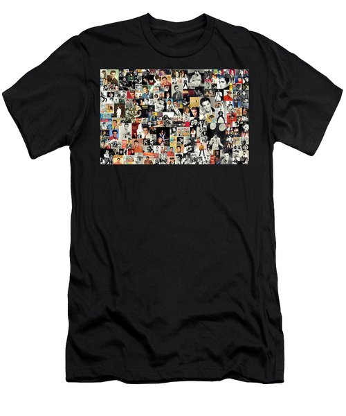Elvis The King Men's T-Shirt (Athletic Fit)