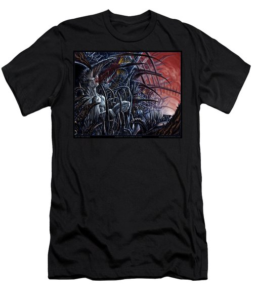Embedded Into A World Of Pain Men's T-Shirt (Athletic Fit)