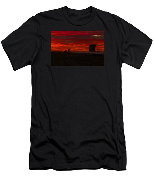 Men's T-Shirt (Slim Fit) featuring the photograph Embers Of Dawn by Duncan Selby