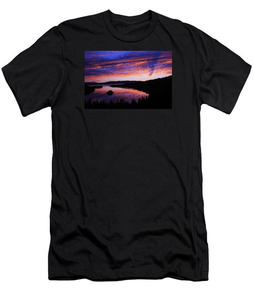 Men's T-Shirt (Slim Fit) featuring the photograph Emerald Bay Awakens by Sean Sarsfield