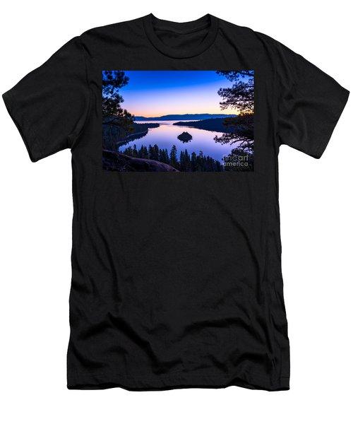 Emerald Bay Sunrise Men's T-Shirt (Athletic Fit)