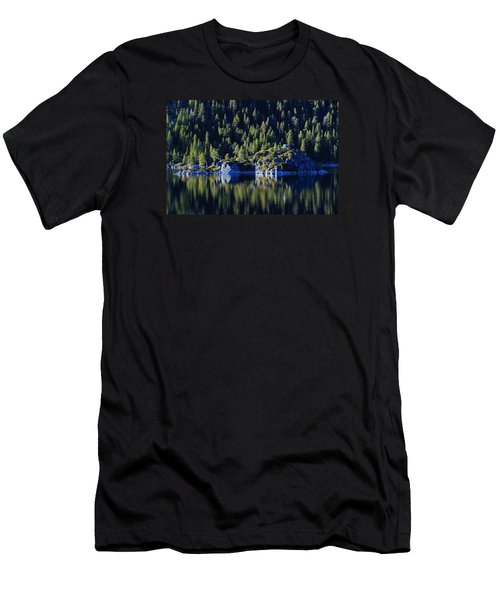 Men's T-Shirt (Slim Fit) featuring the photograph Emerald Bay Teahouse by Sean Sarsfield
