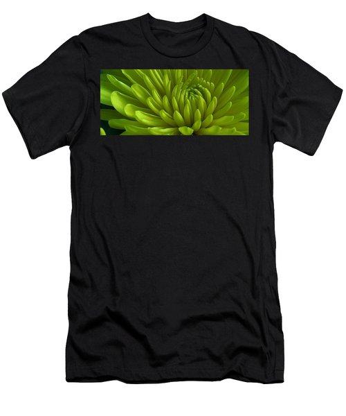 Emerald Dahlia Men's T-Shirt (Athletic Fit)