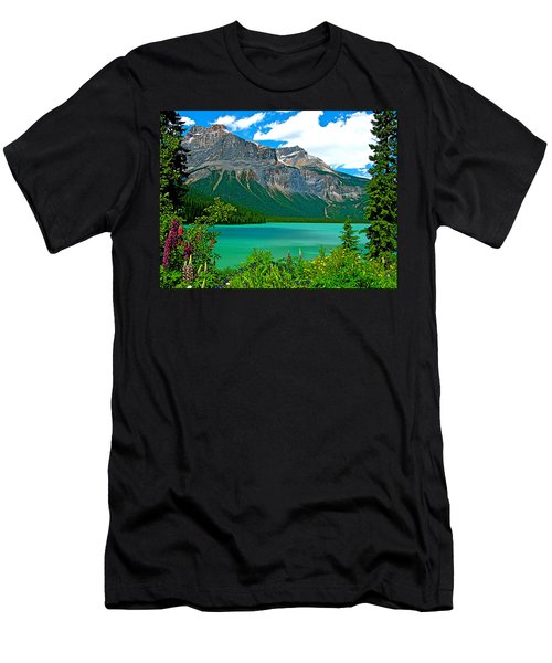 Emerald Lake In Yoho Np-bc Men's T-Shirt (Athletic Fit)