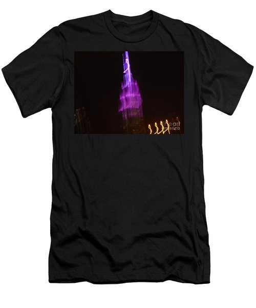 Empire Light Blur Men's T-Shirt (Athletic Fit)