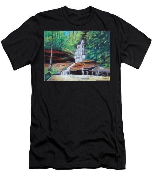 Empress Falls Australia Men's T-Shirt (Athletic Fit)