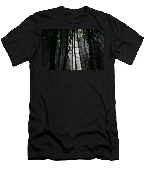 Encounter Of The Vermont Kind No.2 Men's T-Shirt (Slim Fit)
