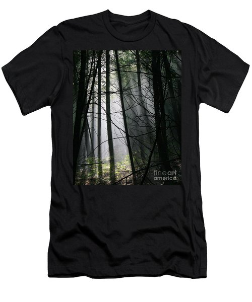 Encounters Of The Vermont Kind  Men's T-Shirt (Slim Fit)