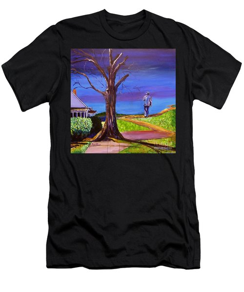 End Of Day Highway 98 Men's T-Shirt (Athletic Fit)