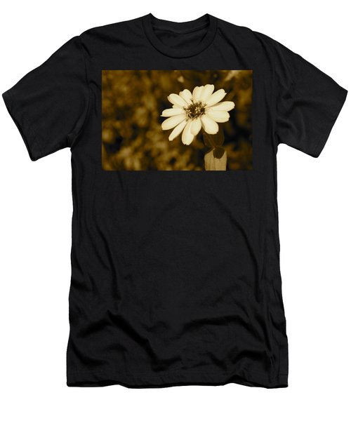 Men's T-Shirt (Slim Fit) featuring the photograph End Of Season by Photographic Arts And Design Studio