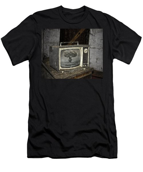 End Of The Show  Men's T-Shirt (Slim Fit) by Jerry Cordeiro