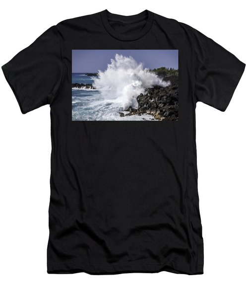 End Of The World Explosion Men's T-Shirt (Athletic Fit)