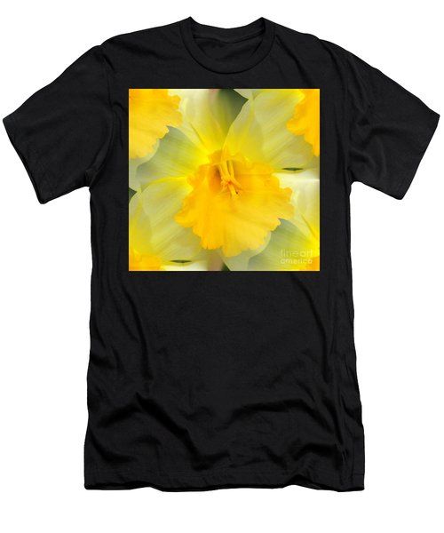 Endless Yellow Daffodil Men's T-Shirt (Athletic Fit)