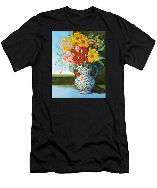 English Bouquet Men's T-Shirt (Athletic Fit)