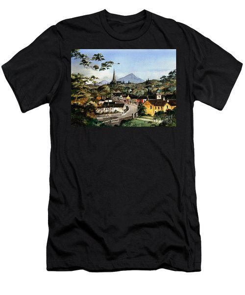 Enniskerry Panorama Wicklow Men's T-Shirt (Athletic Fit)