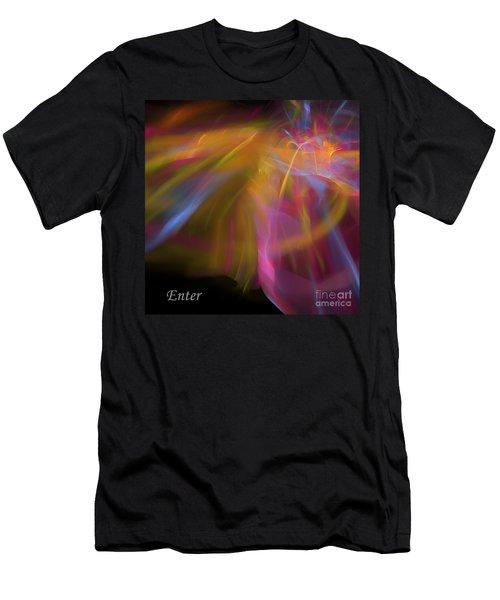 Enter Men's T-Shirt (Slim Fit) by Margie Chapman