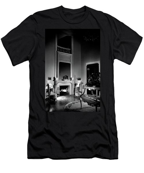 Entrance Hall Of Joan Bennett And Walter Wagner's Men's T-Shirt (Athletic Fit)