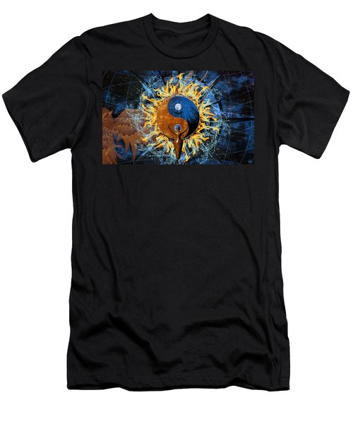 Equilibria Men's T-Shirt (Slim Fit) by Kenneth Armand Johnson