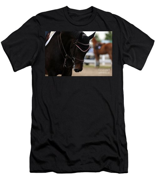 Equine Concentration Men's T-Shirt (Athletic Fit)