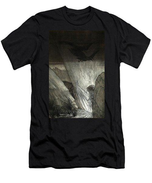Erda Bids Thee Beware, Illustration Men's T-Shirt (Athletic Fit)