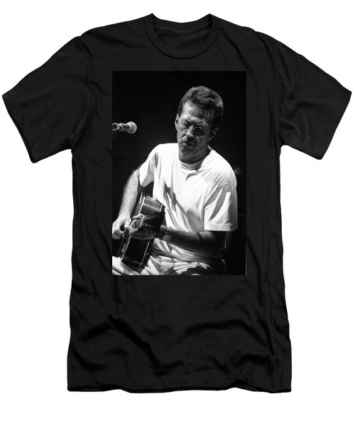 Eric Clapton 003 Men's T-Shirt (Slim Fit) by Timothy Bischoff