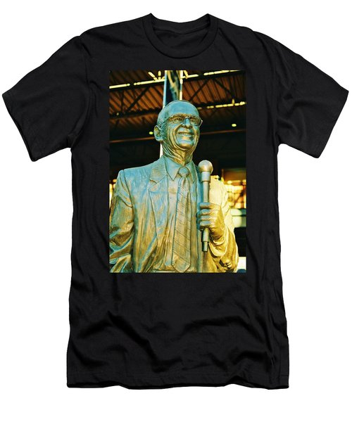Ernie Harwell Statue At The Copa Men's T-Shirt (Athletic Fit)