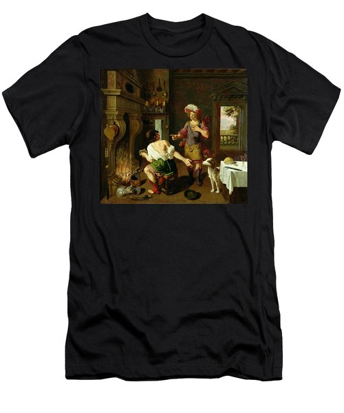 Esau Selling His Birthright To Jacob Men's T-Shirt (Athletic Fit)