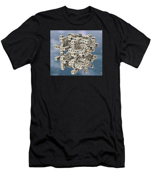 Escher's Construct Men's T-Shirt (Athletic Fit)