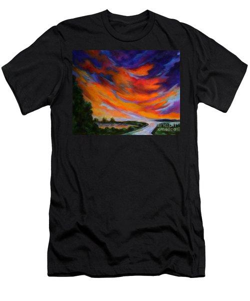 Espiritu Del Cielo Men's T-Shirt (Athletic Fit)