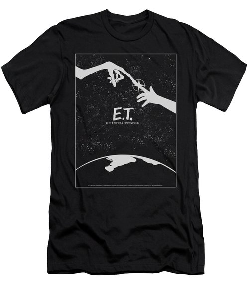 Et - Simple Poster Men's T-Shirt (Athletic Fit)