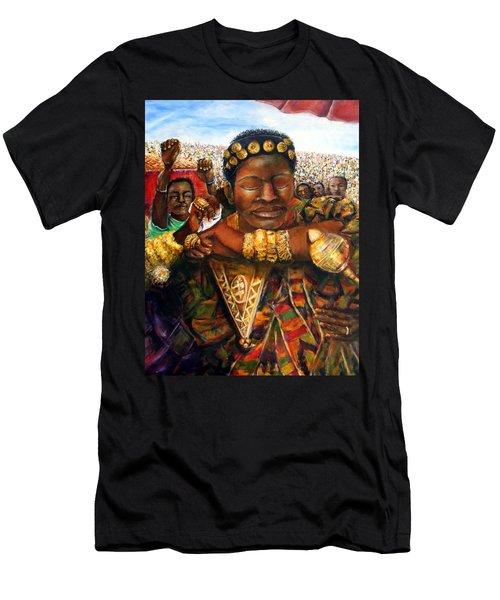 Ethiopia Dancing  Men's T-Shirt (Athletic Fit)