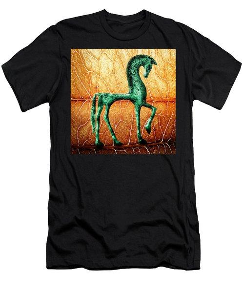 Etruscan Horse Men's T-Shirt (Athletic Fit)