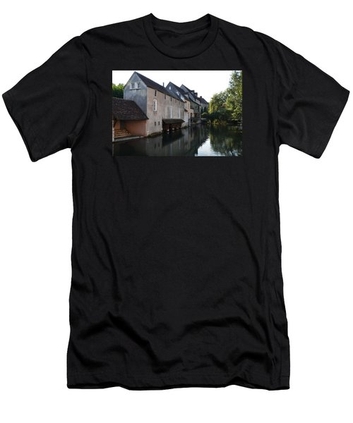 Eure River And Old Fulling Mills In Chartres Men's T-Shirt (Athletic Fit)