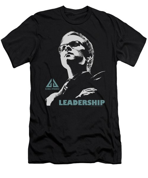 Eureka - Leadership Poster Men's T-Shirt (Athletic Fit)
