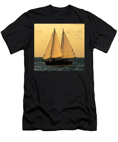 More Sails In Key West Men's T-Shirt (Athletic Fit)