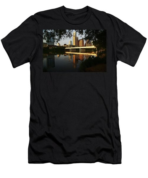 Evening Along The River Men's T-Shirt (Athletic Fit)