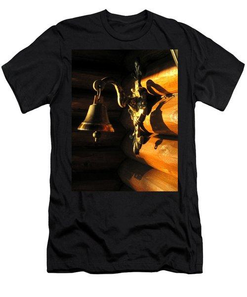 Men's T-Shirt (Slim Fit) featuring the photograph Evening Bell by Leena Pekkalainen