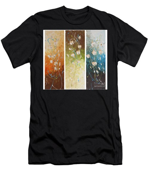 Evening Blossom Men's T-Shirt (Athletic Fit)